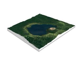 世界の山・3D立体地図作成・製作...